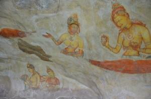 sigiriya-rock-fortres-frescoes-sri-lanka-mysrilankatravel